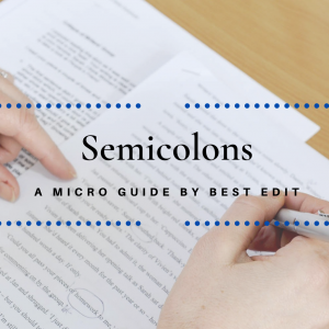 Semicolon guide